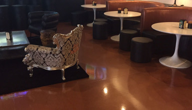 BAR Born & Raised Bronze Epoxy Flooring